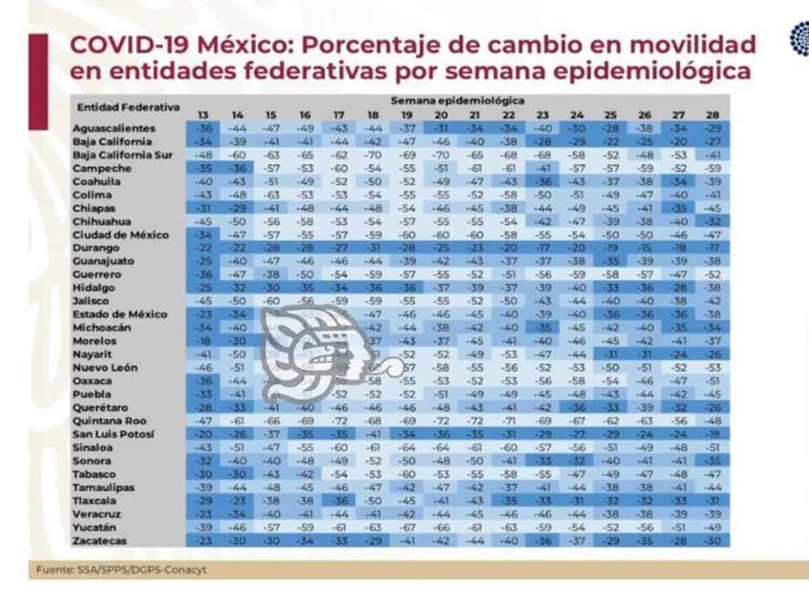 Veracruz está en fase de ascenso y dispersión de Covid-19: López-Gatell