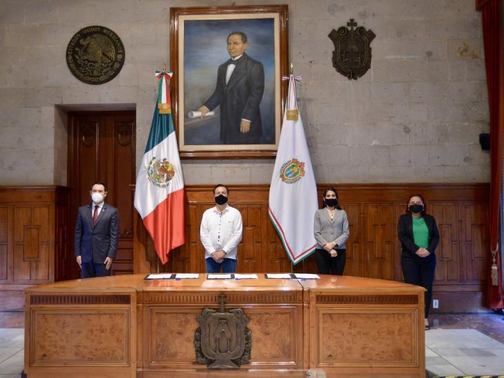 Gobierno de Veracruz regulariza pago de 42.8 mdp con el Instituto de Pensiones