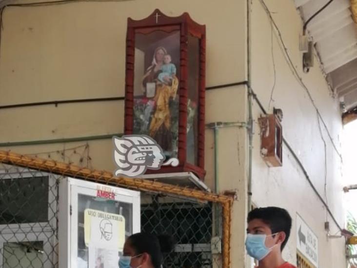 Suspenden procesión de la Virgen del Carmen en río Coatzacoalcos