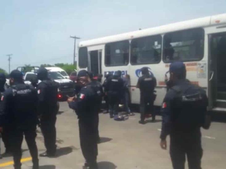 Llamada alerta a las autoridades de asalto en tienda de nombre Vidrio Express