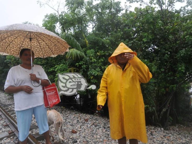 Aumentan precipitaciones climáticas en la zona sur