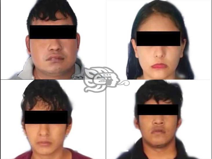 Detienen a 4 presuntos miembros del crimen organizado en Minatitlán