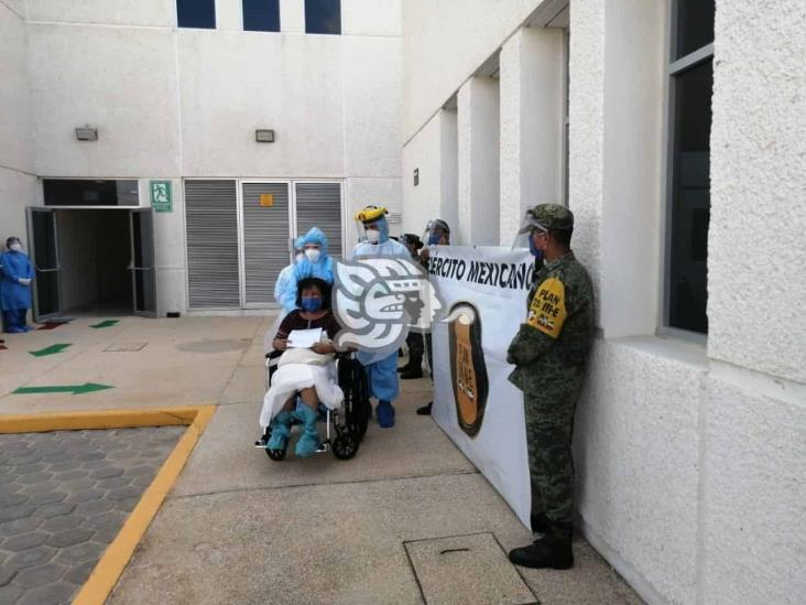 Primer paciente dada de alta en el Hospital Materno Infantil