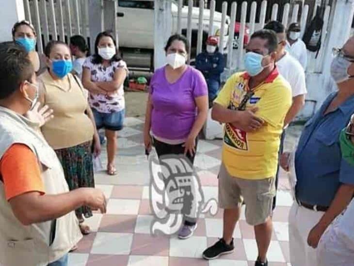 Se agudiza el desabasto en Cosoleacaque, protestan vecinos