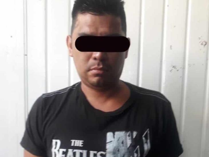 Detienen a hombre con arma en San Andrés Tuxtla