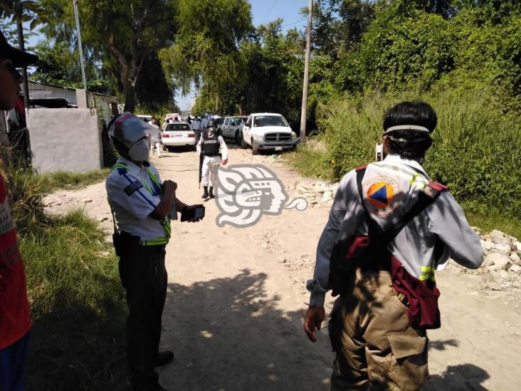 Explota línea de Pemex en Poza Rica; hay 3 lesionados