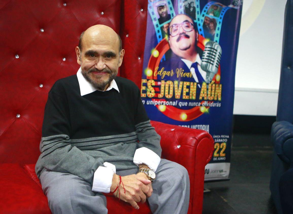Edgar Vivar vende saludos para superar crisis por coronavirus