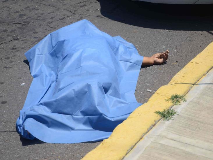 Muere repartidor en accidente en Veracruz
