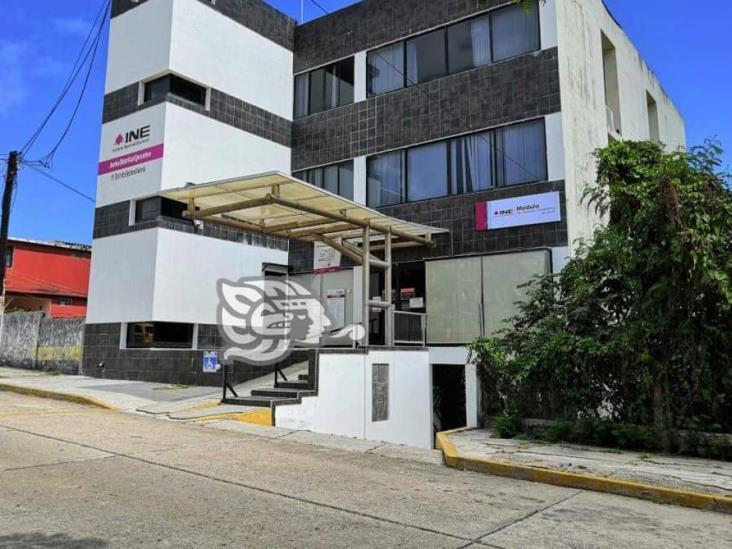 INE Coatzacoalcos reanudará labores este 17 de agosto