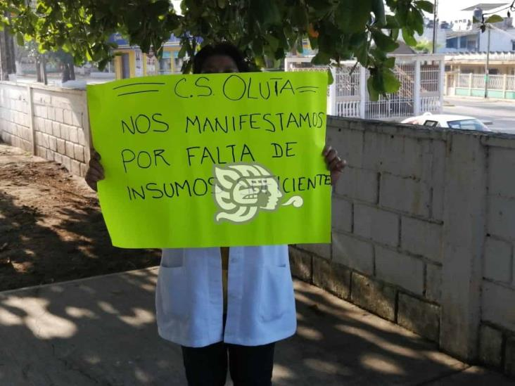 Solicitan insumos en el área Covid del hospital general de Oluta