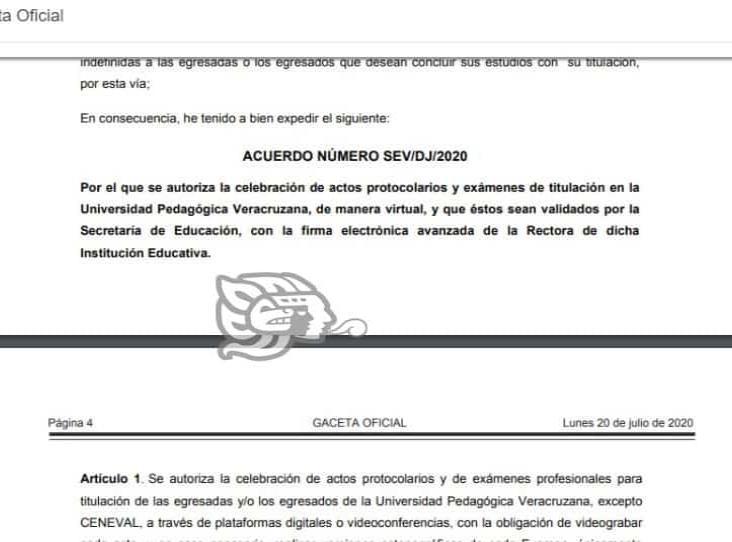 UPV autoriza graduaciones virtuales por contingencia