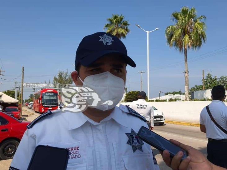 Director de Tránsito supervisa filtros sanitarios en el sur ante aumento de contagios