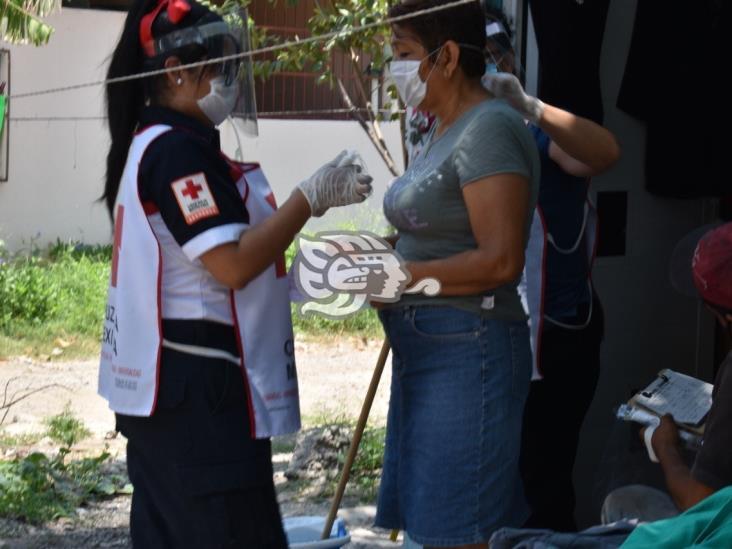 En Veracruz, ayuda Cruz Roja a joven enfermo de escasos recursos