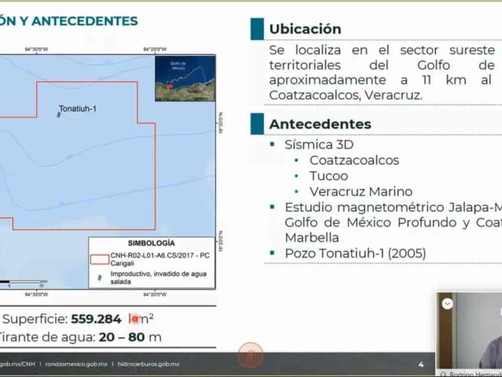 PC Carigali perforará pozo exploratorio frente a Coatzacoalcos
