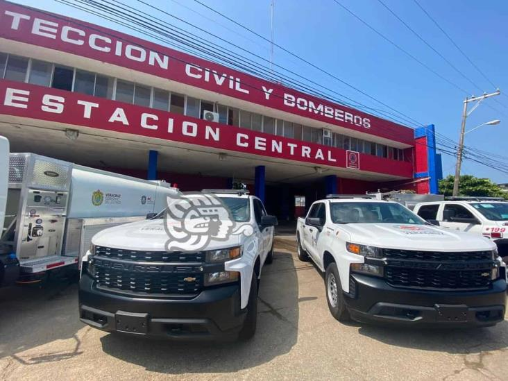 PC Coatzacoalcos recibe cuatro unidades terrestres y dos acuáticas