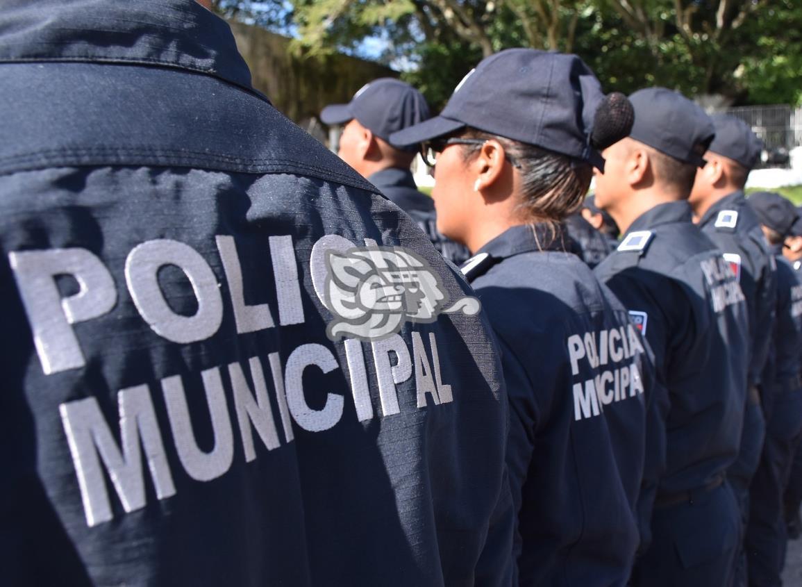Permanecen en cuarentena 20 elementos de la Policía de Coatzacoalcos
