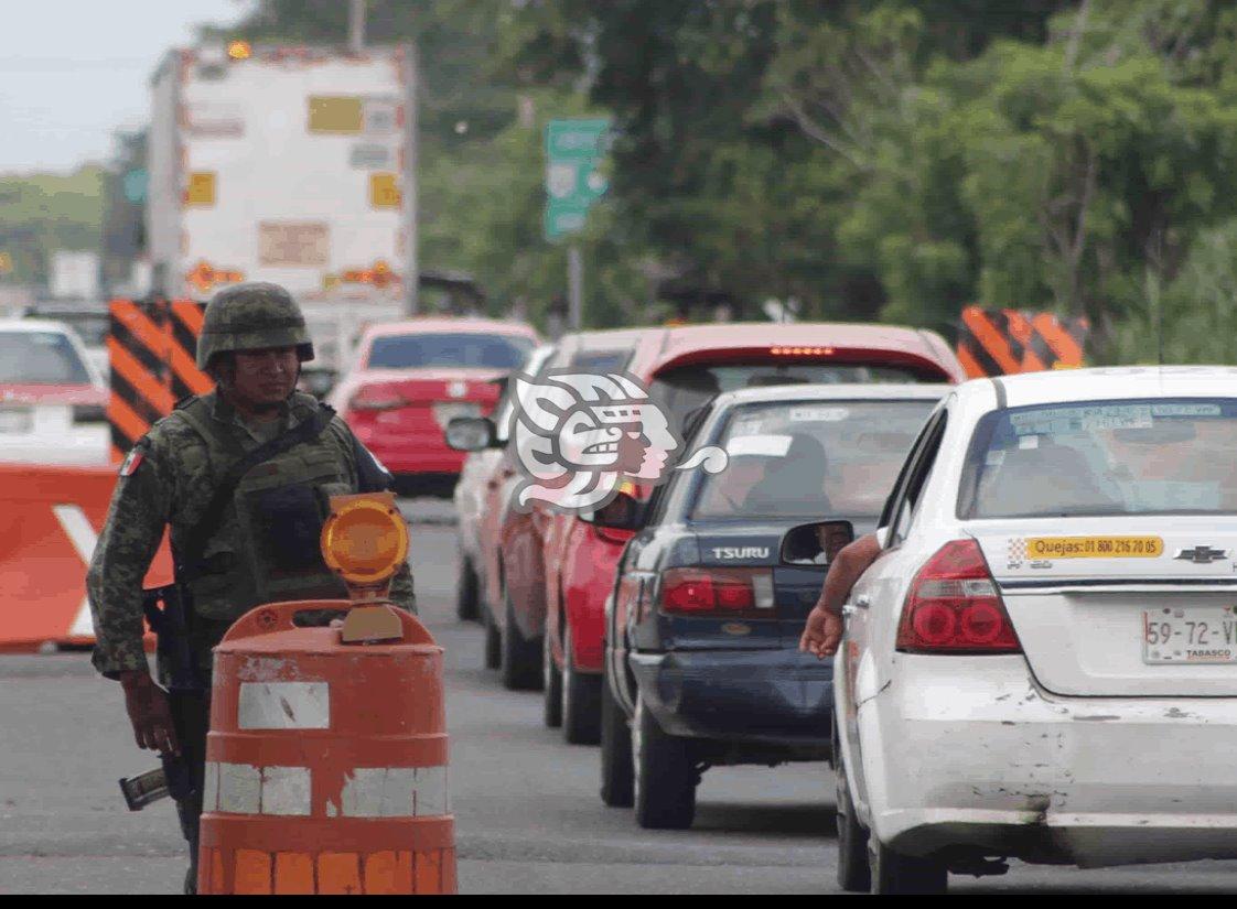 Disminuye robo de unidades de carga en el sur de Veracruz
