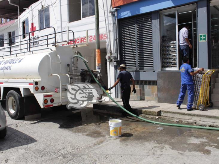 En medio de pandemia, choapenses no cuentan con agua potable