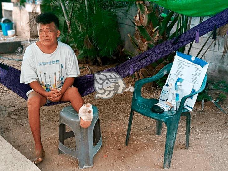 Eduardo Martín, ciego y desamparado contra la diabetes
