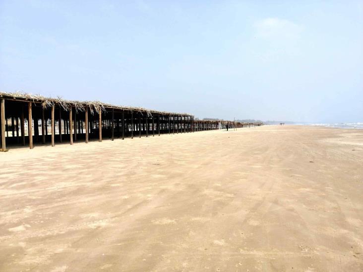 Cierran playas tuxpeñas durante el fin de semana
