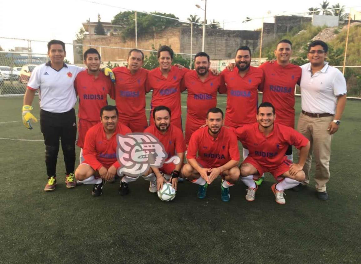 Unión Ridisa forja su propia historia en el Futbol 7 local