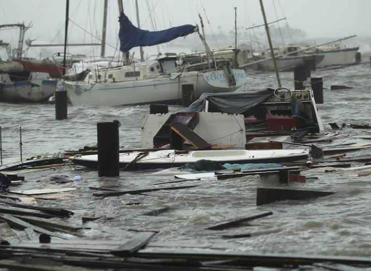 Hanna causa gran devastación en la costa sur de Texas