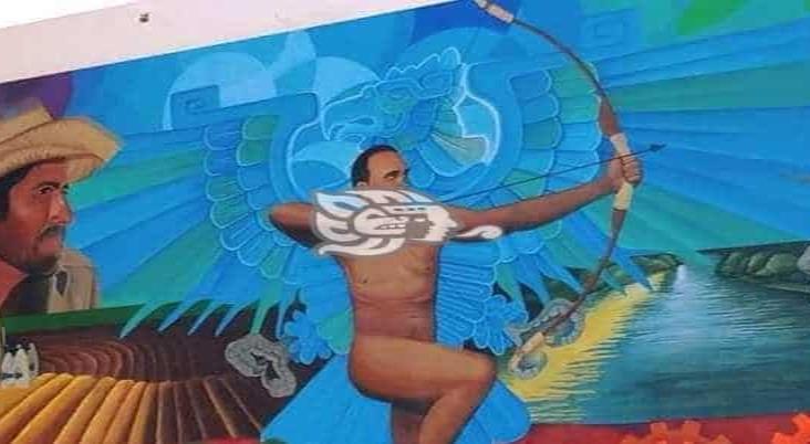Podría modificarse mural del parque: Nicolás Reyes