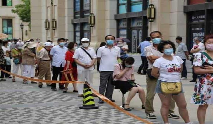 Preocupan a China 61 nuevos contagios de Covid-19