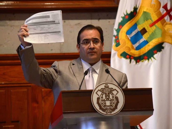 Reconoce Duarte haber ocultado inmuebles en declaración de 2016