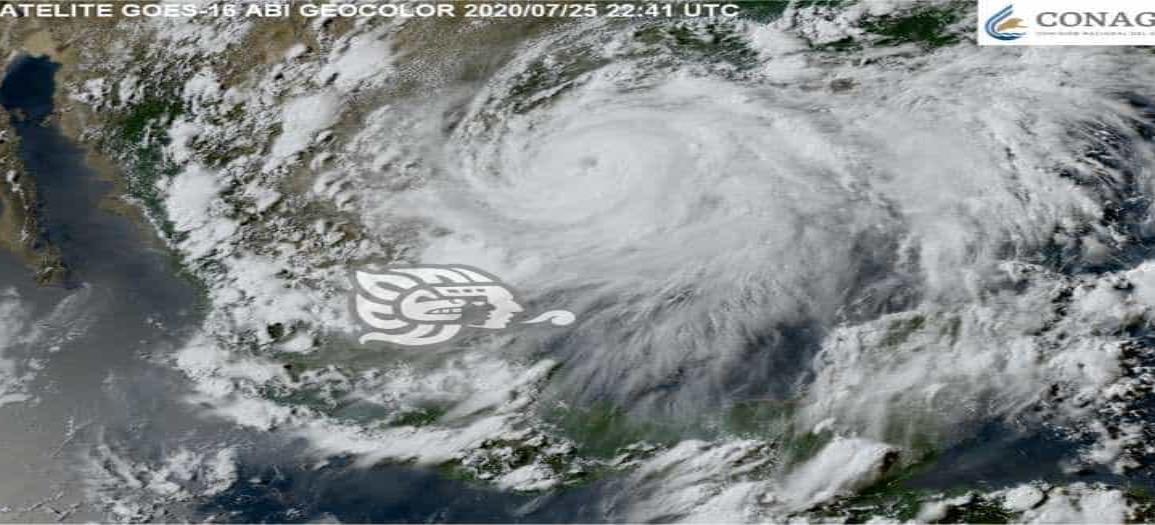 ¿Cuántos huracanes se esperan para 2020 en México?