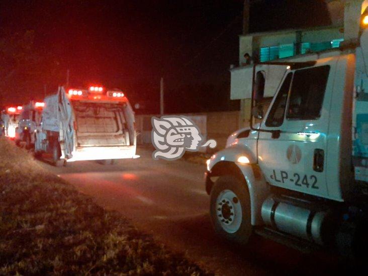 Reabren el basurero de Allende entre protestas y operativo policiaco