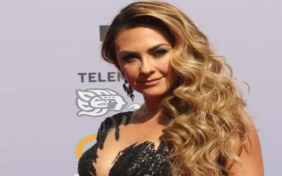 Aracely Arámbula deslumbra TV Azteca en impresionante outfit para MasterChef
