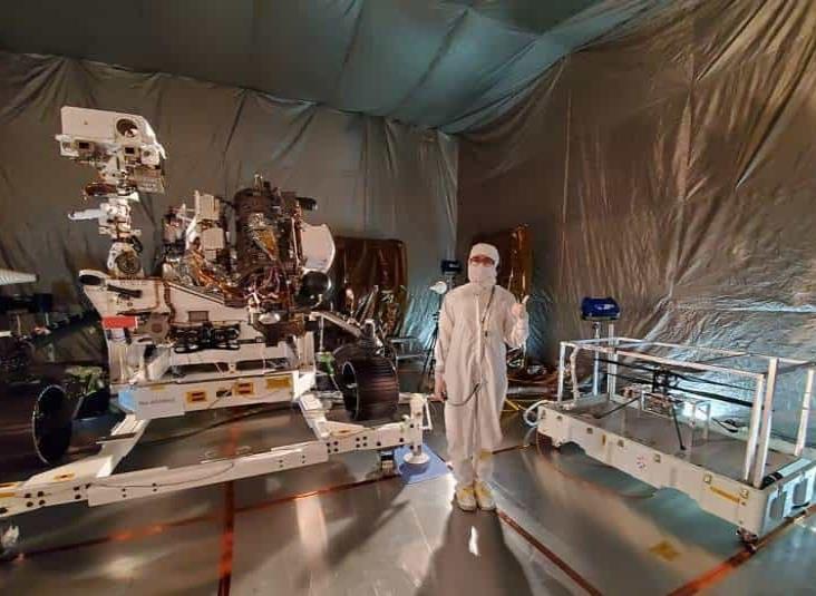 Inicia la cuenta regresiva para la misión de la NASA Mars 2020