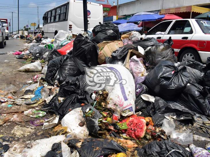 En 72 horas se normalizaría recolección de basura en Coatzacoalcos