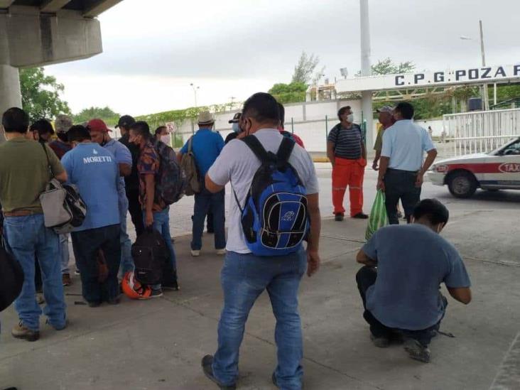 En Poza Rica truenan contra empresa de Coatzacoalcos por desplazar mano de obra local