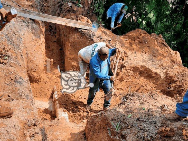 Normaliza Caev distribución de agua en Nanchital