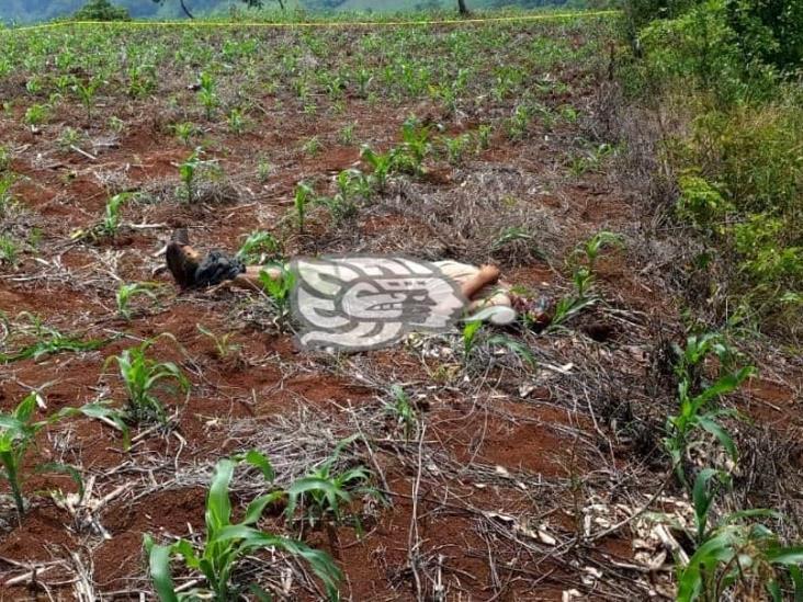 Indagan homicidio de joven en comunidad de Soteapan