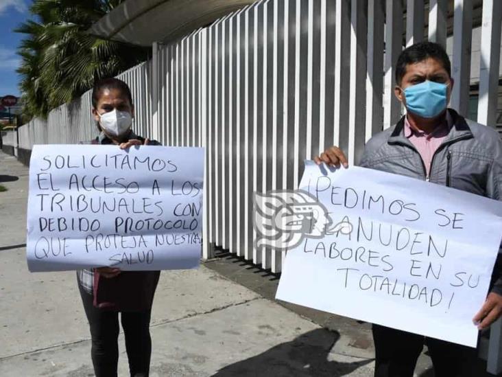 Nueva protesta de abogados por cierre del Poder Judicial