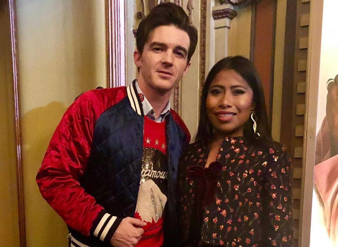 Drake Bell hará una película en México y quiere a Yalitza como protagonista