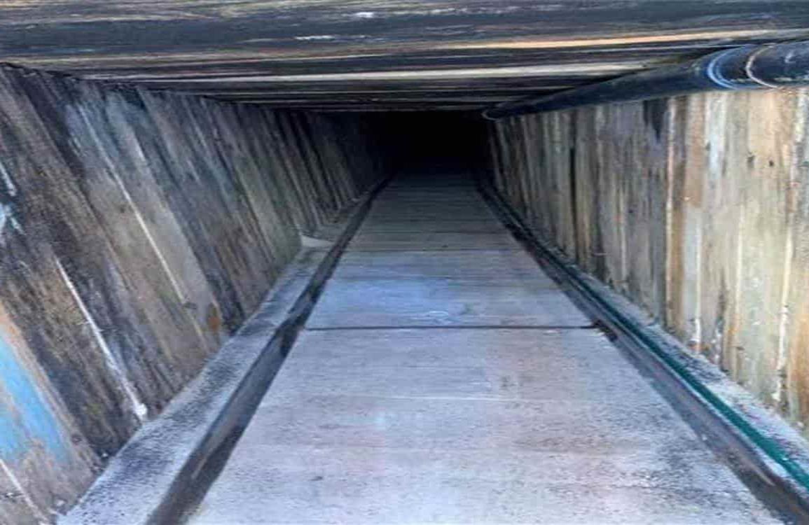 Túnel de México a Arizona, el más sofisticado hasta ahora