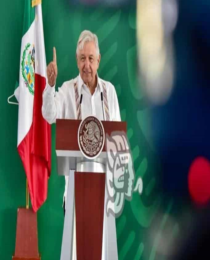 Desconoce AMLO sobre alerta de EU de no viajar a México por Covid