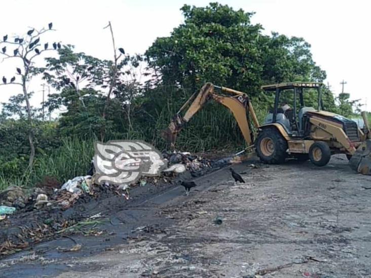 Nanchitecos siguen convirtiendo espacios en basureros clandestinos