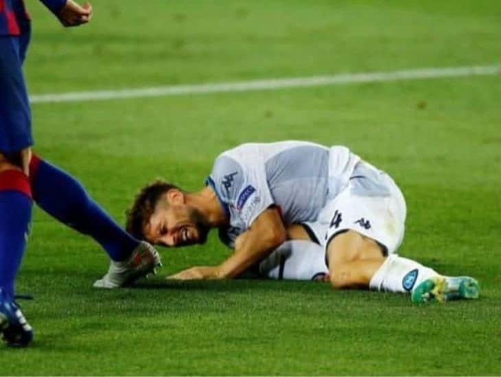 Napoli perdió frente a Barcelona y quedó eliminado de Champions League