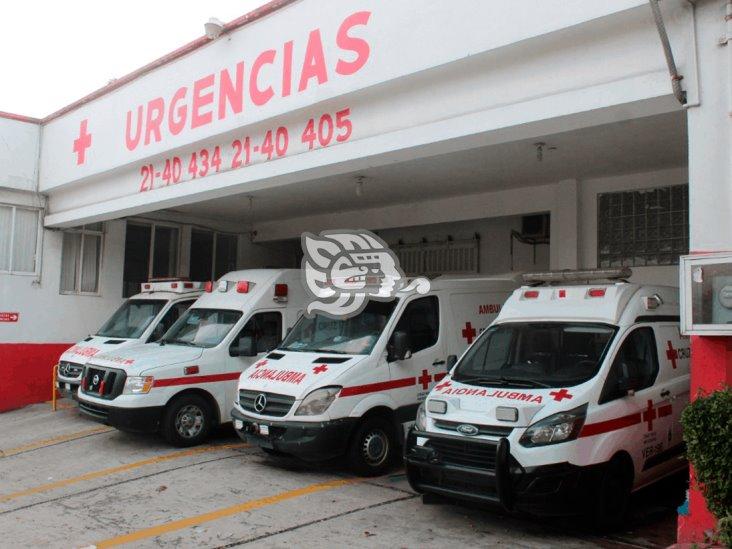 Cruz Roja Coatzacoalcos atiende hasta 8 reportes diarios por Covid