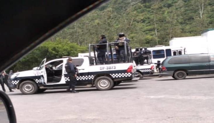 Por presuntos autodefensas, despliegan fuerte operativo en Acultzingo