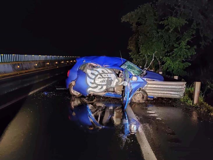 Ex director de PC de Sayula la libra tras accidente en su auto
