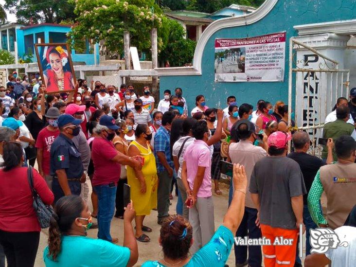 Galería: Despide Moloacán a su alcaldesa