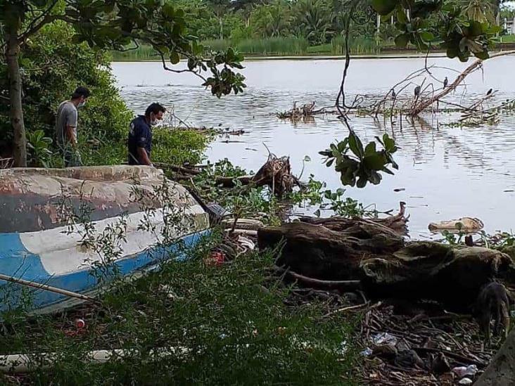 Encuentran restos en Río Jamapa