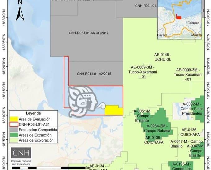 Destinarán más de 248 mdd para perforaciones entre Allende y Coatzacoalcos