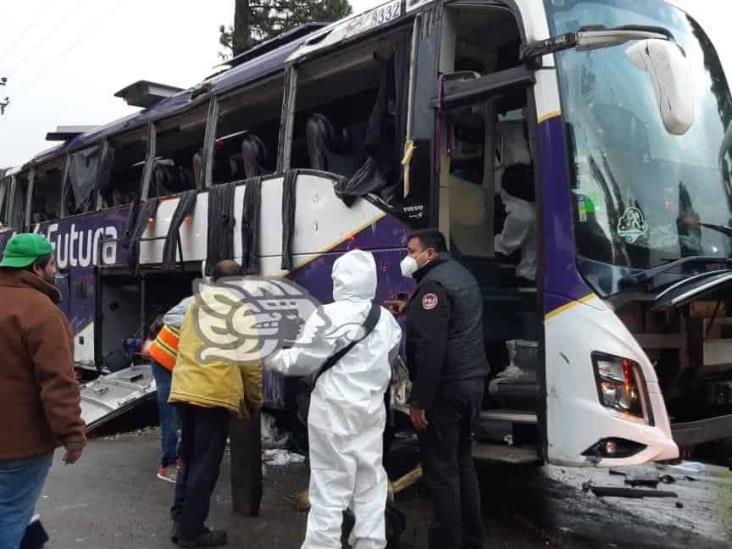 Accidente en la México-Toluca deja 10 muertos y 20 heridos